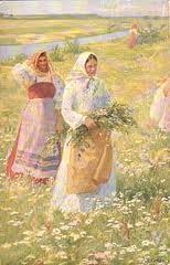 Сбор трав в древней Руси